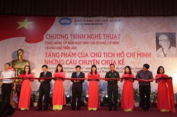 Trưng bày chuyên đề Tặng phẩm của Chủ tịch Hồ Chí Minh - Những câu chuyện chưa kể
