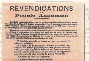 Bản yêu sách của nhân dân An Nam gửi Hội nghị Vécxây