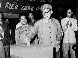 Phát huy quyền và trách nhiệm cử tri trong bầu cử theo lời căn dặn của Bác Hồ