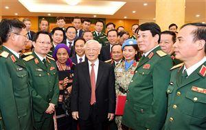 Tăng cường sự lãnh đạo của Đảng đối với quân đội theo tư tưởng Hồ Chí Minh