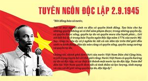 Hồ Chí Minh - Khát vọng độc lập, tự do, hạnh phúc và phát triển