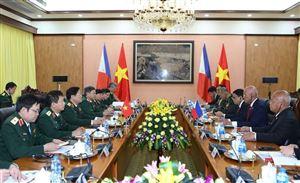 Vận dụng tư tưởng Hồ Chí Minh về đối ngoại vào công tác đối ngoại quân sự, quốc phòng của Việt Nam