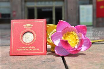 Sản phẩm lưu niệm Phiên bản kỷ niệm Đồng tiền vàng bản vị