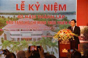 Bảo tàng Hồ Chí Minh Thừa Thiên Huế: 40 năm hình thành và phát triển.