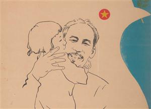 """Họa sĩ Trần Từ Thành: """"Bức tranh Độc lập - Thống nhất - Hòa bình - Hạnh phúc là Kỉ vật riêng vô giá của cuộc đời Tôi"""""""