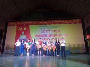 Lễ kỷ niệm 15 năm Ngày Di sản Văn hóa Việt Nam tại Khu di tích Kim Liên