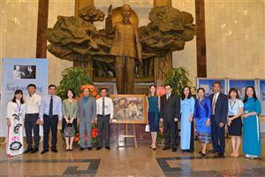"""Khai mạc Triển lãm """"Chủ tịch Xuphanuvông - Người bạn thân thiết của nhân dân Việt Nam"""""""