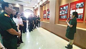 Triển lãm chuyên đề Hành trình vươn tới những ước mơ – 50 năm thực hiện di chúc Chủ tịch Hồ Chí Minh