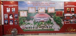 """Triển lãm chuyên đề """"Bảo tàng Hồ Chí Minh Thừa Thiên Huế - 40 năm, một hành trình"""" nhân dịp kỷ niệm Ngày thành lập"""