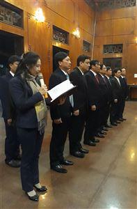 Đoàn công tác Ban Tổ chức Trung ương dâng hương tưởng niệm Chủ tịch Hồ Chí Minh tại Khu Di tích Kim Liên