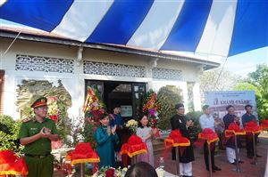 Lễ khánh thành công trình chỉnh lý nhà trưng bày bổ sung cụm di tích lưu niệm Chủ tịch Hồ Chí Minh tại làng Dương Nỗ