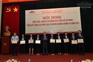 Bảo tàng Hồ Chí Minh: Hội nghị Tổng kết công tác năm 2020, phương hướng nhiệm vụ năm 2021
