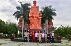 [Ảnh] Đoàn công tác của Bảo tàng Hồ Chí Minh thăm và làm việc với Bảo tàng Hồ Chí Minh chi nhánh Bình Thuận