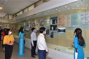 """Khai mạc trưng bày chuyên đề """"Người đi tìm hình của Nước"""" tại Bảo tàng Hồ Chí Minh"""