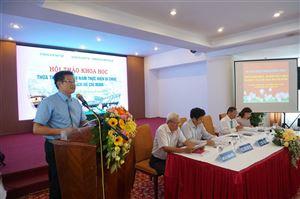 """Hội thảo khoa học """"Thừa Thiên Huế - 50 năm Thực hiện Di chúc của Chủ tịch Hồ Chí Minh"""""""
