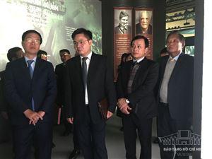 Giám đốc Bảo tàng Hồ Chí Minh tham gia Đoàn đại biểu Đảng Cộng sản Việt Nam thăm và làm việc tại Kazakhstan và Liên bang Nga