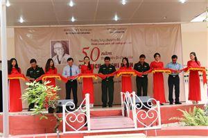"""Khai mạc trưng bày chuyên đề """"Hành trình vươn tới những ước mơ – 50 năm thực hiện Di chúc của Chủ tịch Hồ Chí Minh (1969-2019)"""" tại Quân khu 5, Đà Nẵng"""