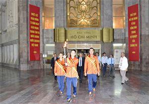 Lễ xin lửa rước đuốc cho Đại hội Thể thao toàn quốc lần thứ VIII năm 2018