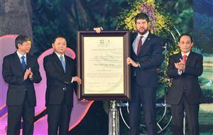 Lễ đón nhận danh hiệu Công viên địa chất Toàn cầu Non nước Cao Bằng và công bố Di tích Quốc gia đặc biệt Chiến thắng Biên giới năm 1950