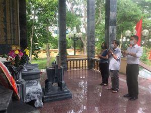 Khu di tích Kim Liên tổ chức các hoạt động tri ân nhân kỷ niệm Ngày thương binh liệt sĩ