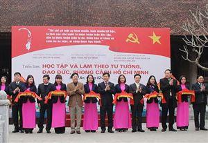 Khai mạc triển lãm Học tập và làm theo tư tưởng, đạo đức, phong cách Hồ Chí Minh