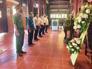 Khu di tích Kim Liên tổ chức Lễ tưởng niệm Chủ tịch Hồ Chí Minh nhân kỷ niệm 76 năm Quốc khánh nước CHXHCN Việt Nam