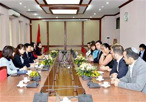 Bảo tàng Hồ Chí Minh tiếp đón và làm việc với đoàn đại biểu Đại sứ quán Israel tại Việt Nam