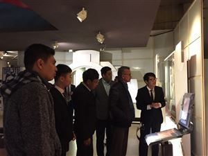 Bộ trưởng khách sạn và du lịch nước Cộng hòa Liên bang Myanmar tới tham quan Bảo tàng Hồ Chí Minh