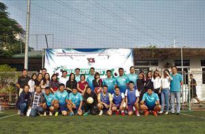 Đoàn cơ sở Bảo tàng Hồ Chí Minh tham gia chương trình Giao lưu Bóng đá cúp Tứ hùng năm 2018