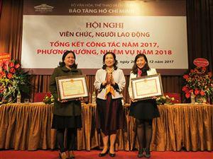 Bảo tàng Hồ Chí Minh tổ chức Hội nghị tổng kết công tác năm 2017