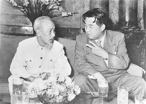 Chủ tịch Hồ Chí Minh, người khởi xướng mối quan hệ hữu nghị Việt Nam - Triều Tiên