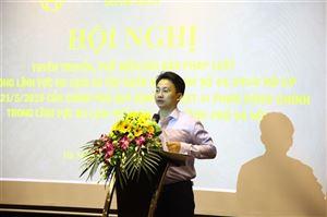 Hà Nội: Hội nghị tuyên truyền phổ biến văn bản pháp luật trong lĩnh vực du lịch và triển khai thực hiện Nghị định số 45/2019/NĐ-CP của Chính phủ
