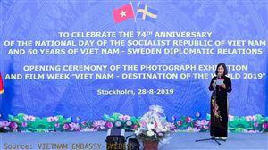 Nhiều hoạt động kỷ niệm 50 năm thực hiện Di chúc Chủ tịch Hồ Chí Minh ở nước ngoài (02/9/1969-02/9/2019)