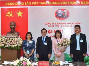 Đại hội Chi bộ Hành chính, Tổng hợp nhiệm kỳ 2020 – 2022, Đại hội điểm của Đảng bộ Bảo tàng Hồ Chí Minh