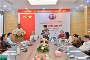 Đại hội Chi bộ Văn phòng Hội Di sản Văn hóa Việt Nam, nhiệm kỳ 2020-2022