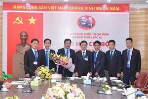 Đại hội các Chi bộ trực thuộc Đảng bộ Bảo tàng Hồ Chí Minh, nhiệm kỳ 2020-2022
