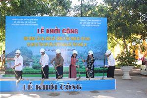 Khởi công công trình cải tạo, xây dựng, chỉnh lý nhà trưng bày bổ sung tại Khu Di tích Kim Liên