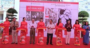 """Khai mạc triển lãm """"Hồ Chí Minh-những nét phác họa chân dung"""" tại Bảo tàng tỉnh Gia Lai"""