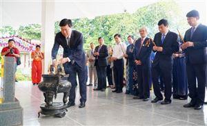 Trang trọng tổ chức lễ giỗ lần thứ 91 của cụ Phó bảng Nguyễn Sinh Sắc