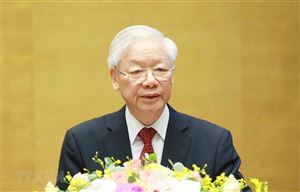 Phát biểu của Tổng Bí thư Nguyễn Phú Trọng tại Hội nghị toàn quốc sơ kết 5 năm thực hiện Chỉ thị số 05
