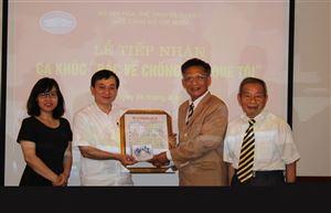 Lễ tiếp nhận ca khúc Bác về chống hạn quê tôi tại Bảo tàng Hồ Chí Minh