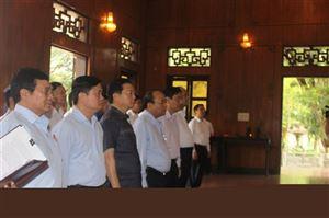 Thủ tướng Chính phủ Nguyễn Xuân Phúc thăm Khu Di tích Kim Liên