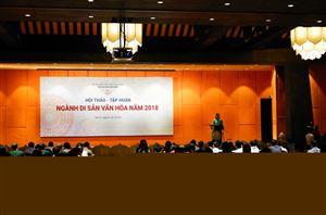 Hội thảo - tập huấn ngành Di sản Văn hóa năm 2018
