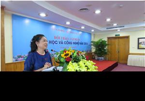Hội thảo - Tập huấn khoa học và công nghệ năm 2018