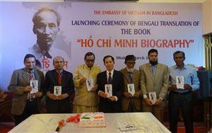 """Ra mắt cuốn sách """"Tiểu sử Hồ Chí Minh"""" bằng tiếng Bengali"""