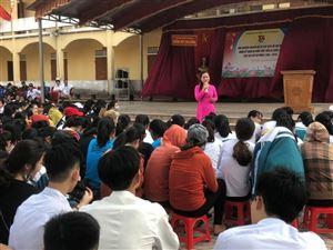 Khu di tích Kim Liên tổ chức nói chuyện chuyên đề về Chủ tịch Hồ Chí Minh tại Huyện Con Cuông