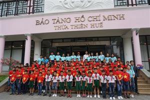 Bảo tàng Hồ Chí Minh Thừa Thiên Huế đón các đoàn trong dịp lễ dịp 26/3