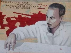 Hoạ sĩ Lê Nhường và các tác phẩm tranh cổ động về Bác Hồ
