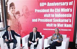 Kỷ niệm 60 năm chuyến thăm của Bác Hồ và Tổng thống Sukarno