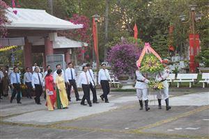 Khu Di tích Nguyễn Sinh Sắc đón khách tham quan trong dịp Tết Nguyên đán Canh Tý năm 2020